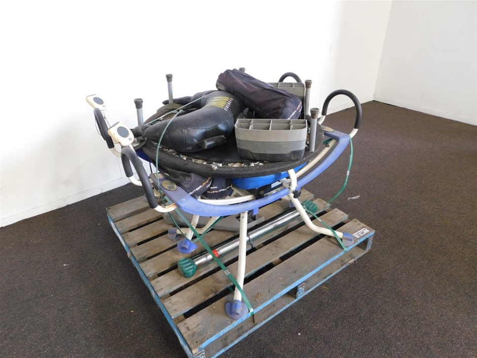 Pallet of Exercise Equipment