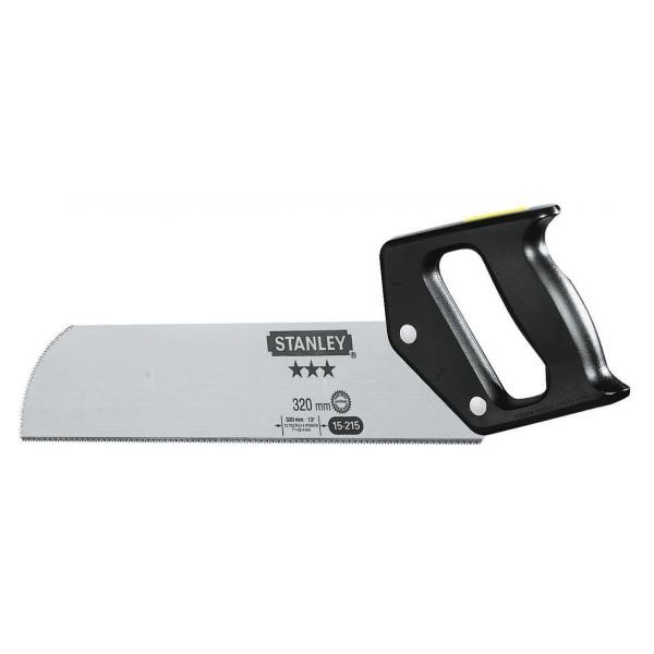 2 x STANLEY 320mm Back Saws. (SN:1-15-215-K2) (268606-181)