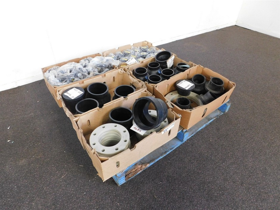 Agru Pallet of Pipe Attachments