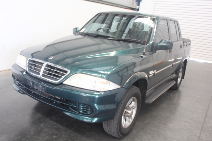 2006 Ssangyong Musso Sports (4x4) Turbo Diesel Automatic Ute 145,170km