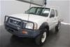 2006 Nissan Navara DX 4WD D22 Turbo Diesel Dual Cab