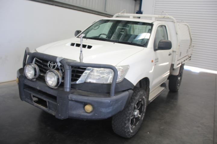 2012 Toyota Hilux SR (4x4) KUN26R Turbo Diesel Manual Cab Chassis