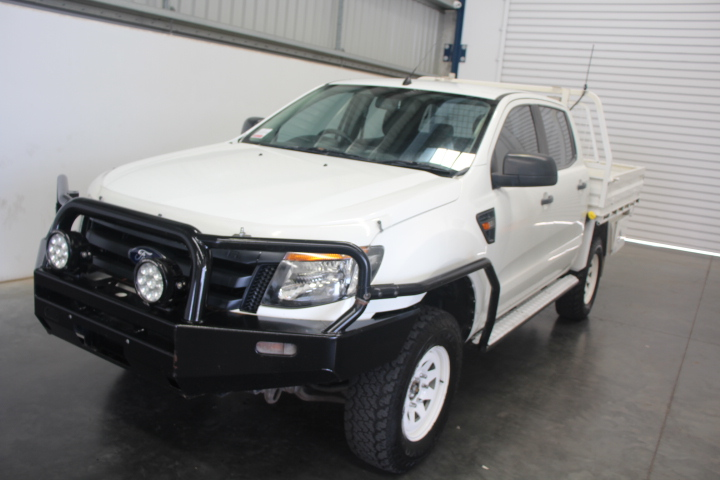 11/2012 Ford Ranger D/Cab XL PX T/Diesel Automatic 4WD Ute