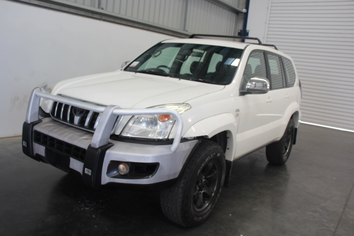 8/2008 Toyota Landcruiser Prado GX 120 Series 8Seater T/Diesel 6spd Manual