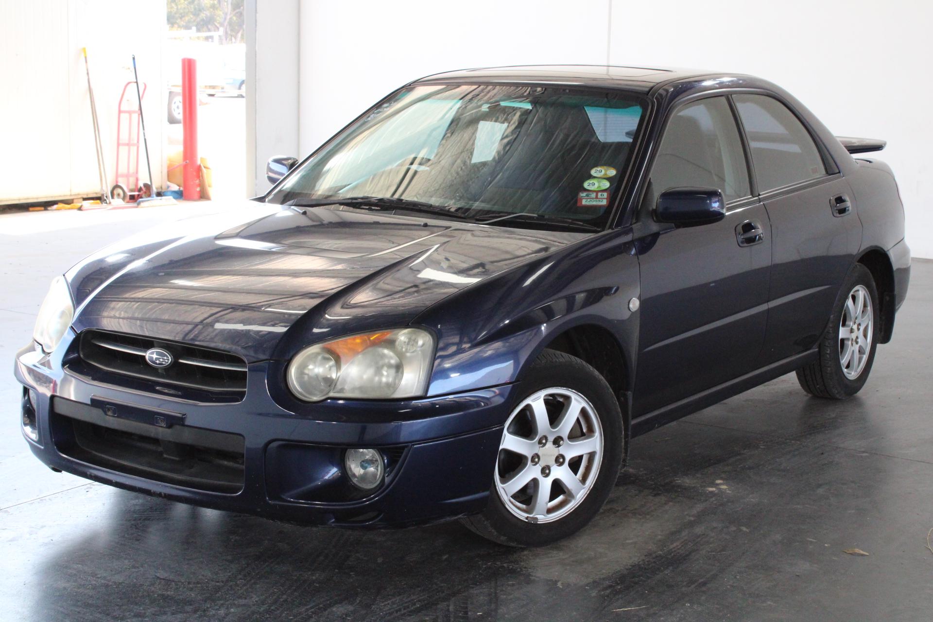 2005 Subaru Impreza GX (AWD) G2 Automatic Sedan