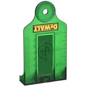 2 x DeWALT Green Laser Target Cards. Buy