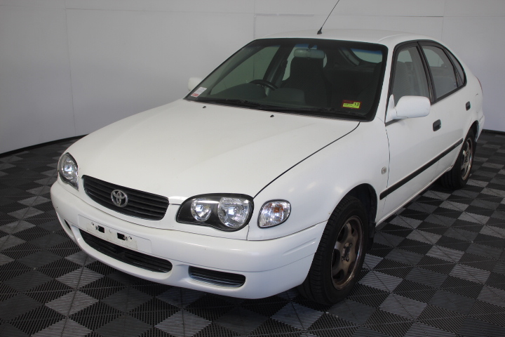 2000 Toyota Corolla Ascent Seca AE112R Automatic Hatchback (WOVR)