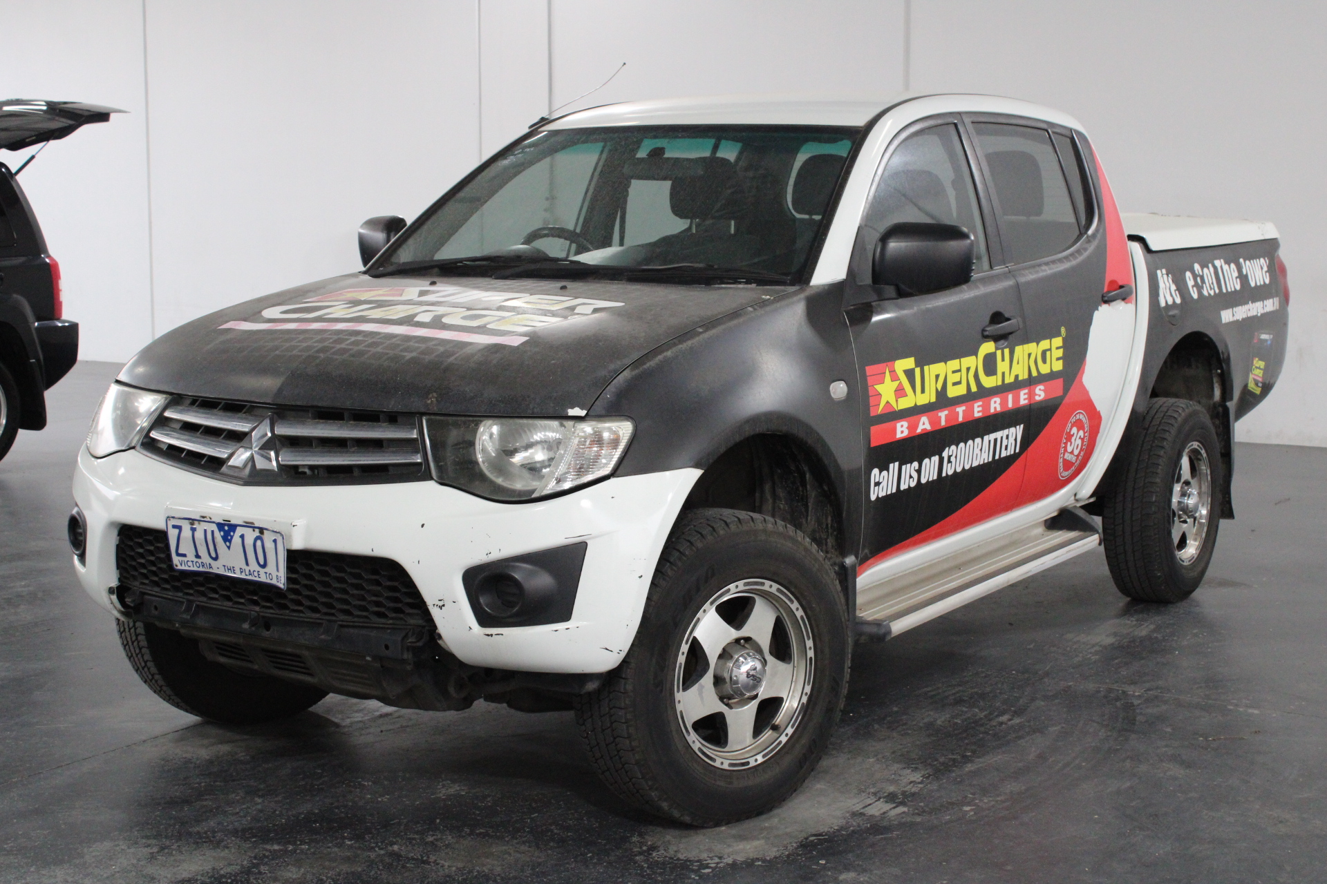 2012 Mitsubishi Triton 4X2 GLX MN Turbo Diesel Automatic Dual Cab