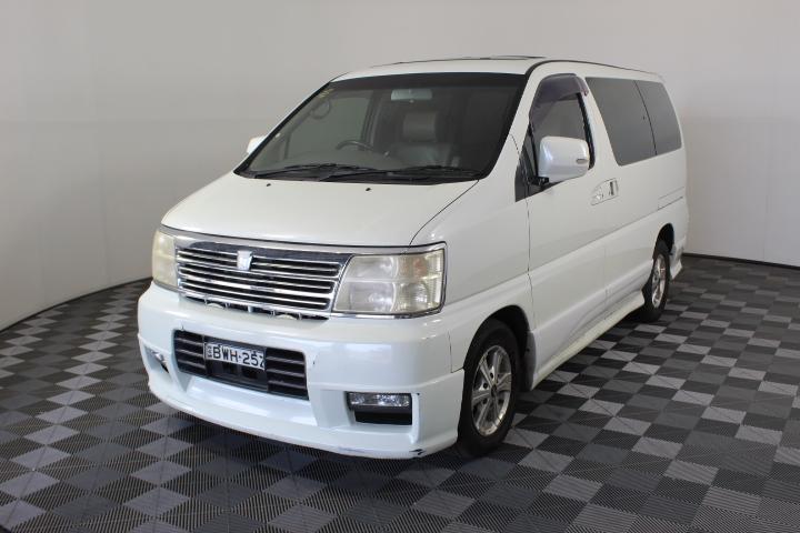 Nissan Elgrand Automatic 8 Seats Van