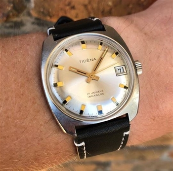 Tidena Vintage Watch, Made in Switzerland