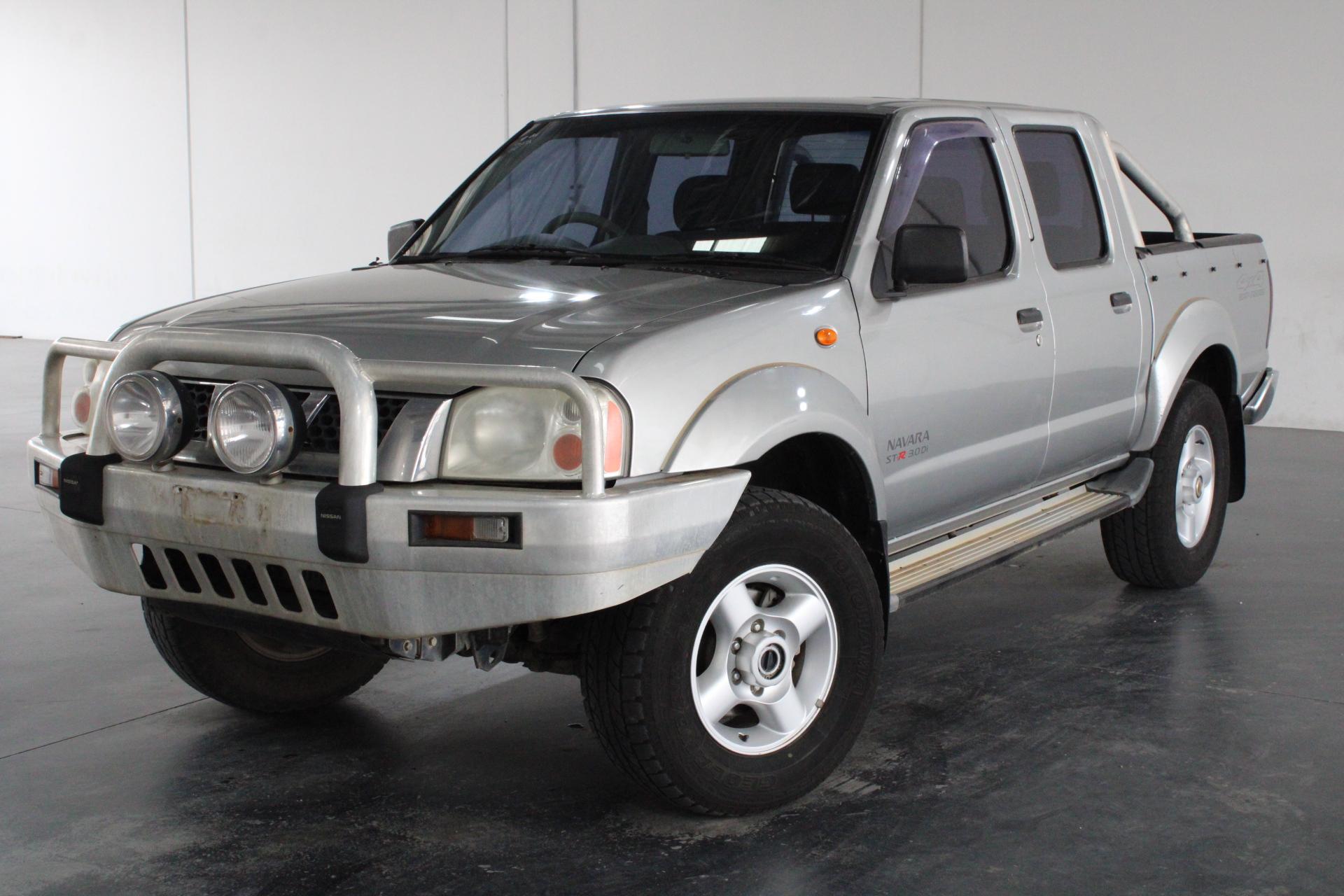 2004 Nissan Navara ST-R (4x4) D22 Turbo Diesel Manual Dual Cab
