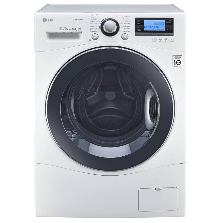 LG 10kg Direct Drive Front Load Washing Machine, True Steam Model WD14071SD