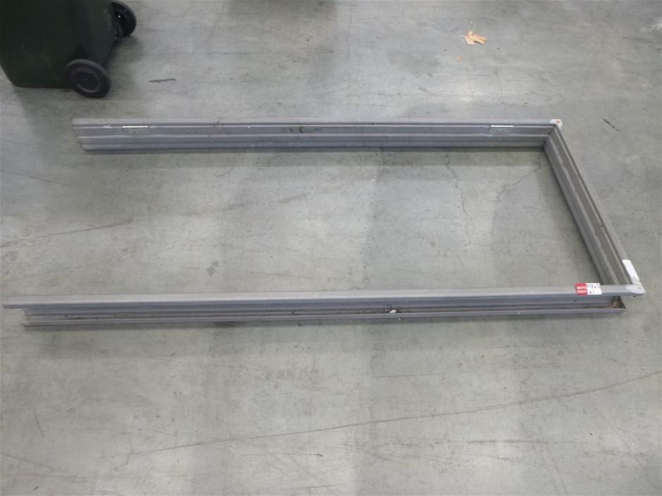 5x Stainless Steel Door Frames