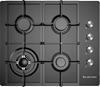 Kleenmaid 60cm Gas Cooktop, Black (KCGCTK6011)