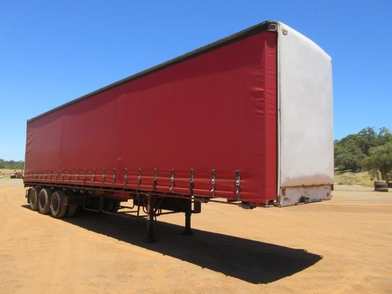 1998 Freighter 45ft ST3 Triaxle Curtainsider Trailer