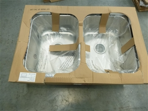Stainless Steel Double Basin Sink
