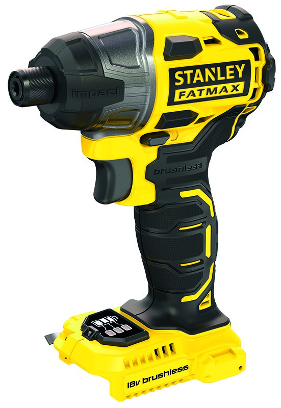STANLEY FatMax 18V Brushless Impact Driver, Skin Only. Buyers Note - Discou
