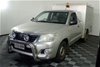 2012 Toyota Hilux 4X2 SR Automatic Ute