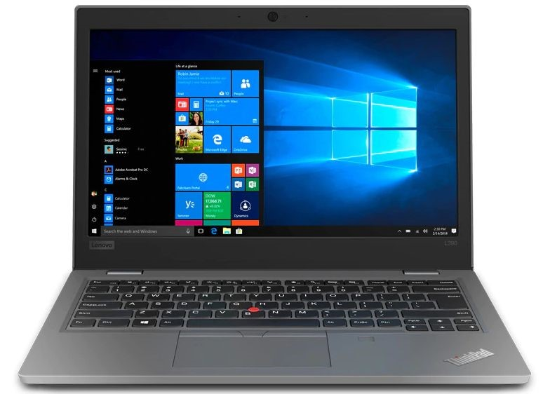 Lenovo ThinkPad L390 13.3-inch Notebook, Silver