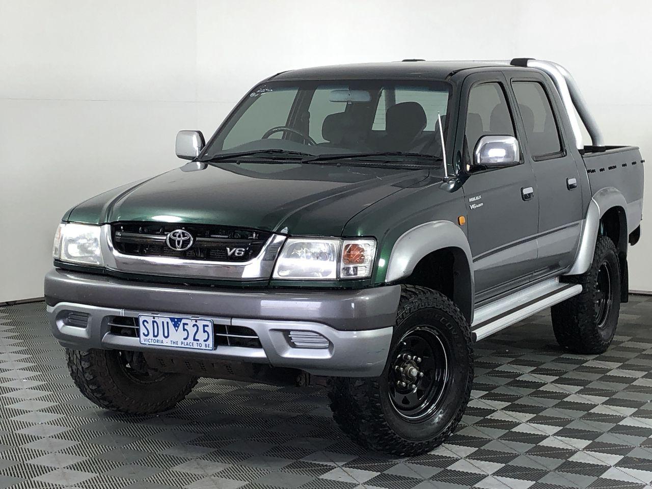 2003 Toyota Hilux SR5 (4x4) Manual Dual Cab