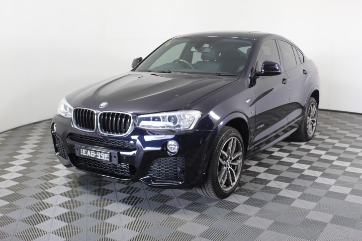 2016 BMW X4 xDrive 20d F26 Turbo Diesel Automatic - 8 Speed Coupe