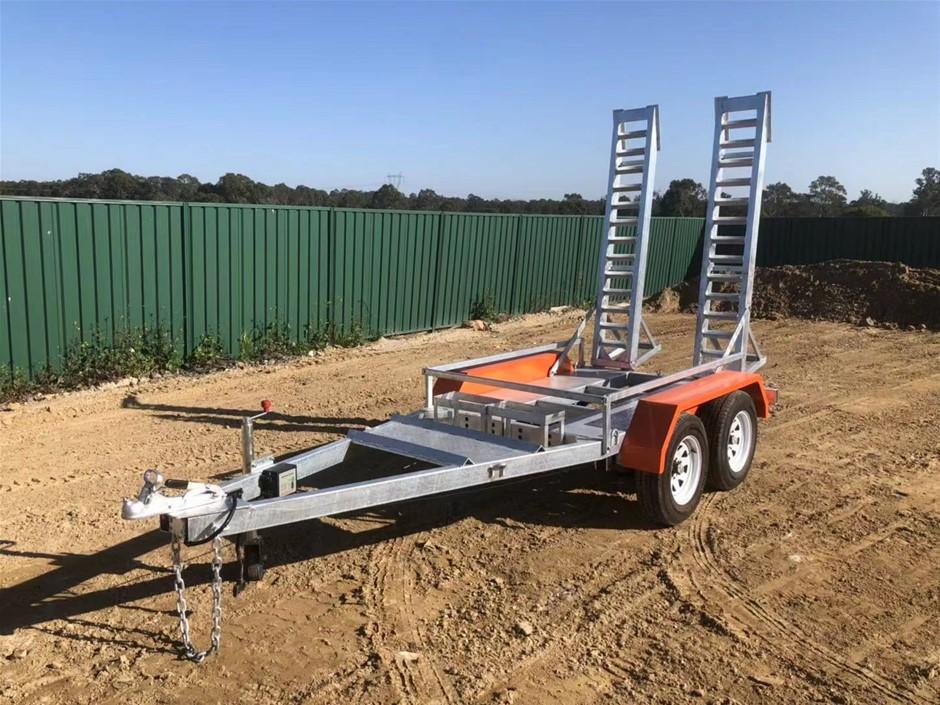 2020 New Plant Trailer Tandem Heavy Duty 3400kg