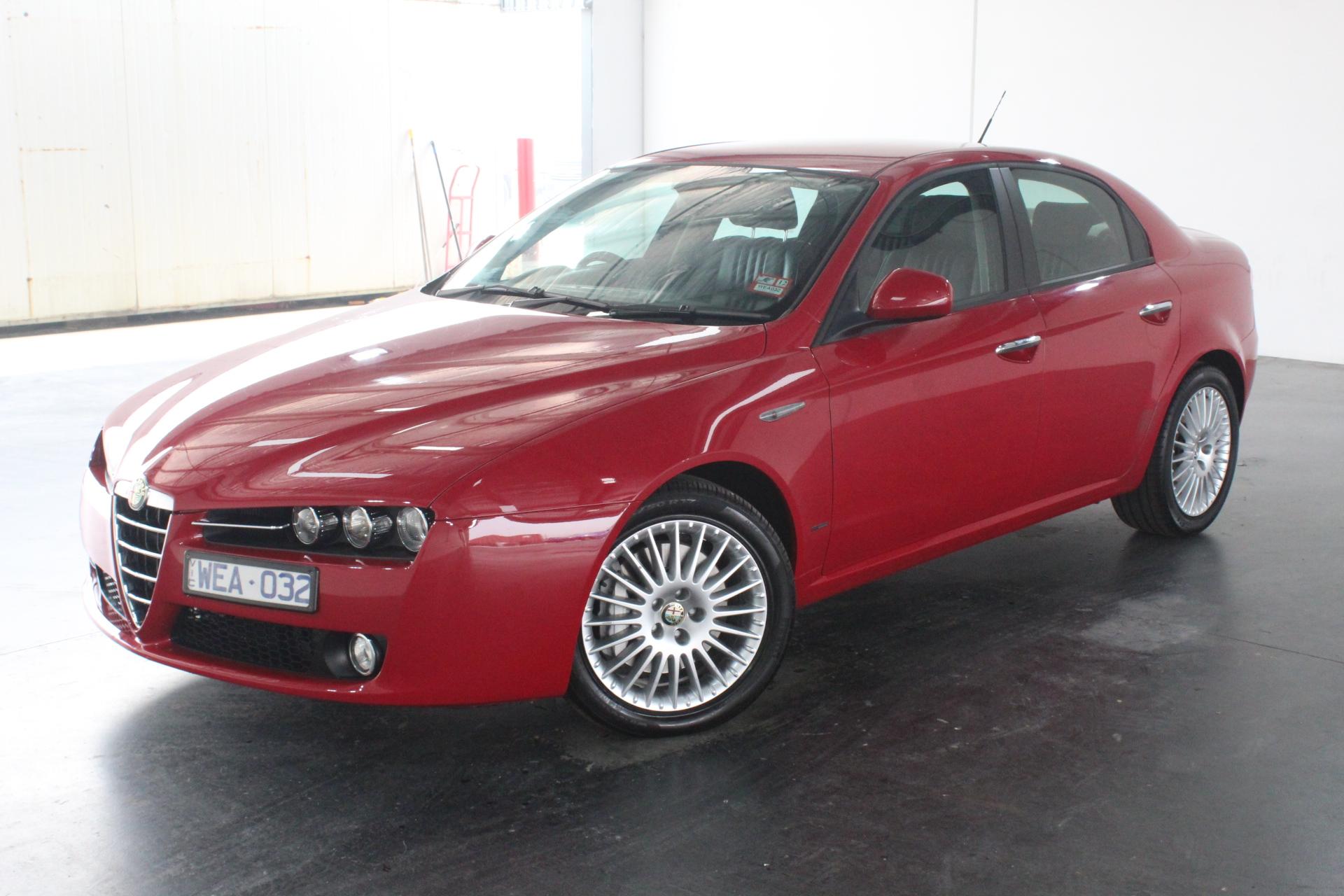 2007 Alfa Romeo 159 2.4 JTD 140 Turbo Diesel Automatic Sedan