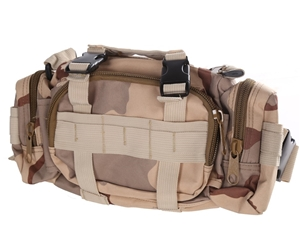 Camo Canvass Style Belt & Utility Bag 35