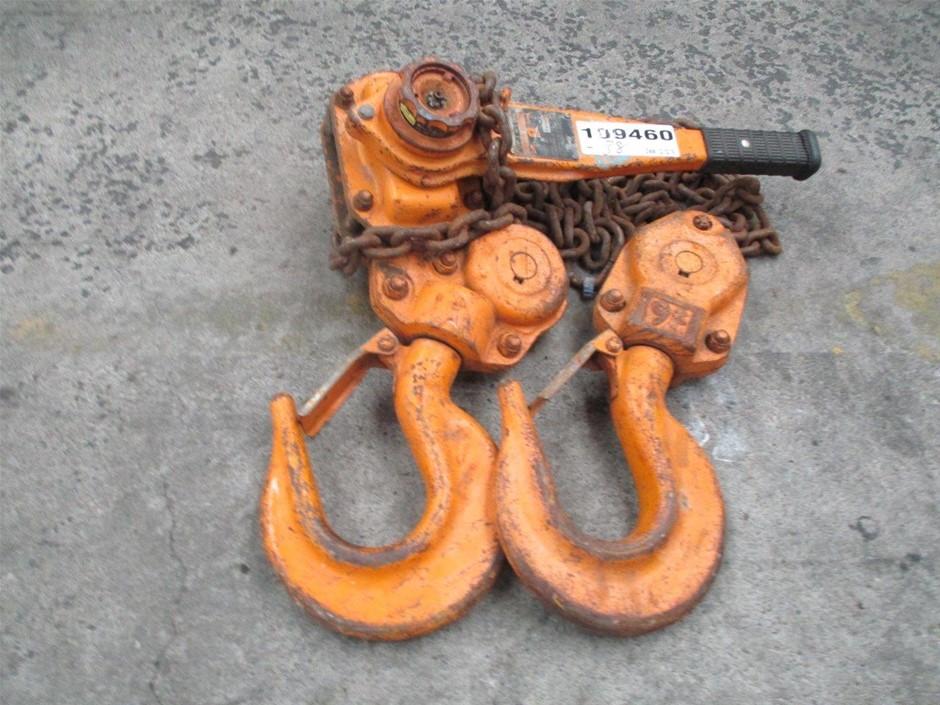 L4-090 9 Tonne Lever Hoist