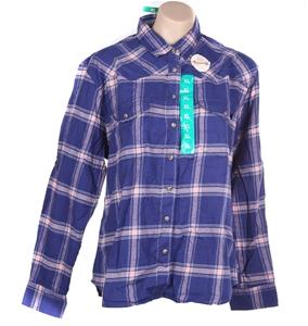 JACHS GIRLFRIEND Women`s Plaid Button-Up