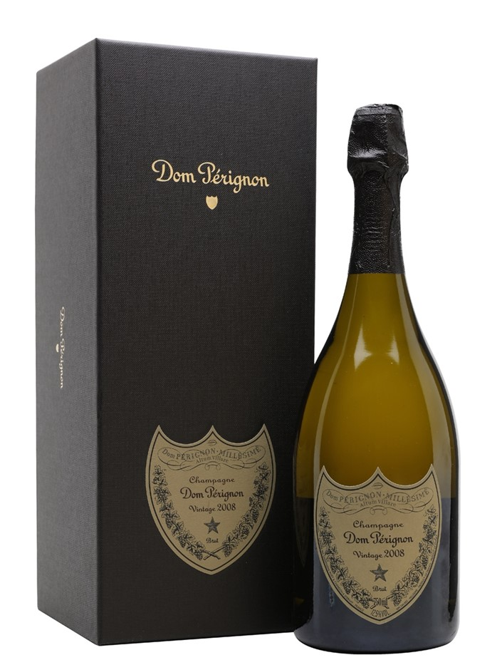 Dom Pérignon 2008 Gift Boxed (3 x 750mL), Champagne, France