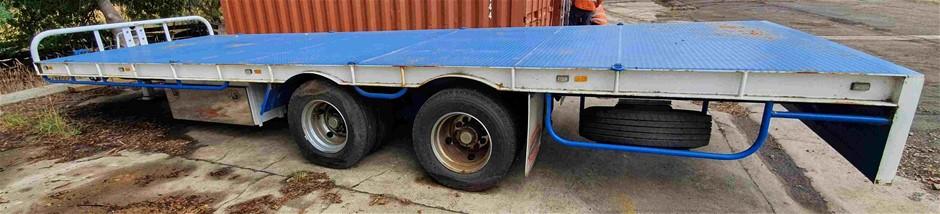 20 Tonne Flat Bed Truck Trailer - 2.5m W x 10m L
