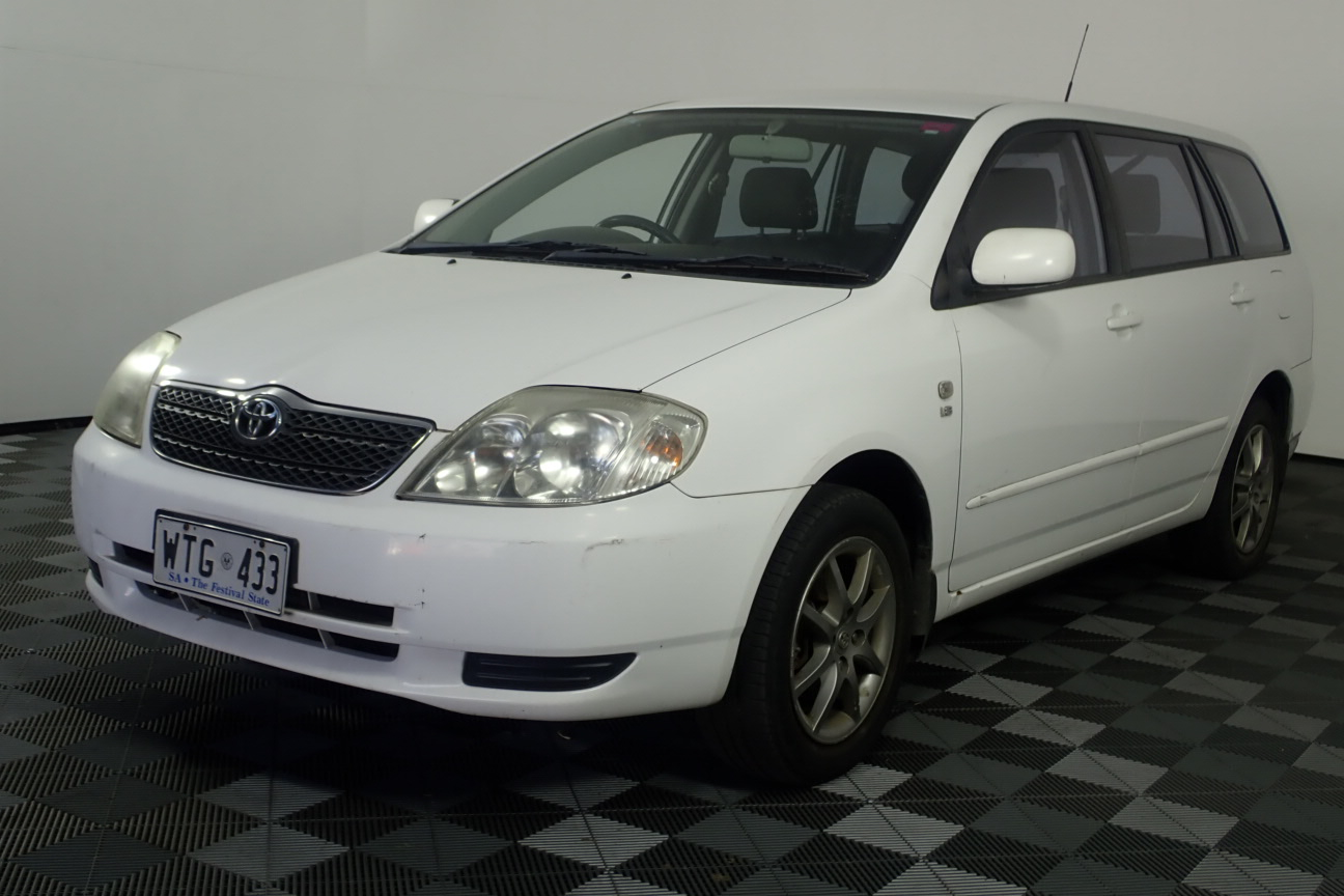 2002 Toyota Corolla Conquest Manual Wagon