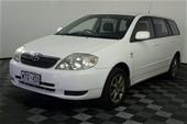 2002 Toyota Corolla Conquest Manual Wagon