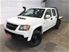 2011 Holden Colorado 4X4 LX 3.0 T/D RC Turbo Diesel Manual Dual Cab
