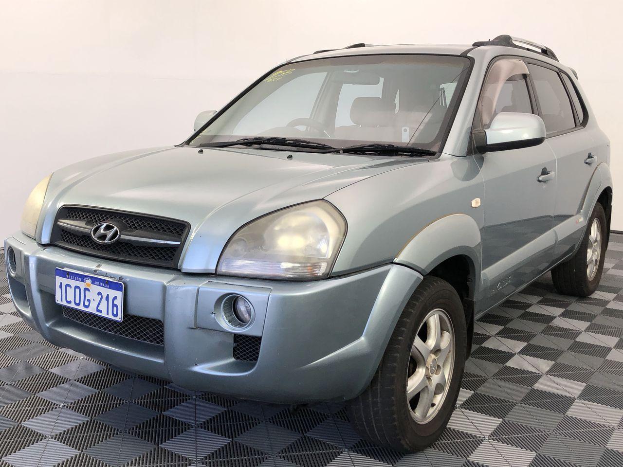 2005 Hyundai Tucson Elite Automatic Wagon (WOVR+Inspected)