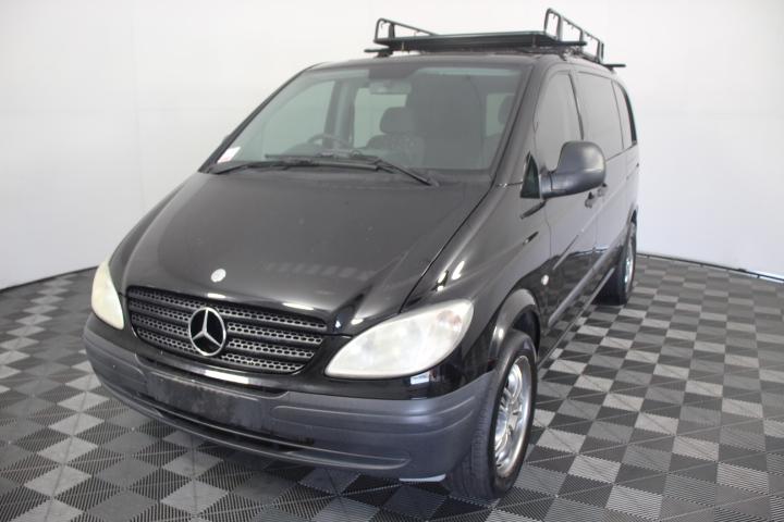 2007 Mercedes Benz Vito 109CDI Compact Turbo Diesel Van