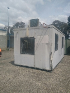 Portable Site Hut, 6m x 3m