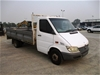 2002 Mercedes Benz Sprinter 413 CDI 4 x 2 Tray Body Truck (WOVR)