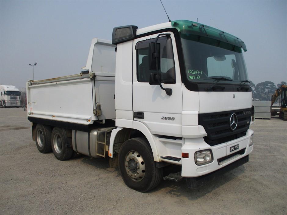 2007 Mercedes Benz Actros 2650 Tipper Truck