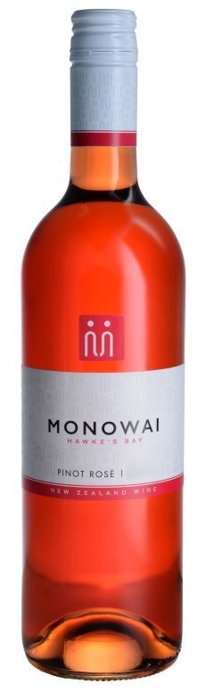 Monowai Winemaker's Selection Rose 2019 (12 x 750mL) Hawke's Bay, NZ