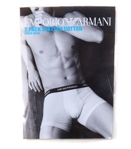 EMPORIO ARMANI 2pk Men`s Stretch Cotton