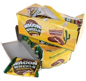 30 x ARNOTTS Wagon Wheels Biscuits 48g.