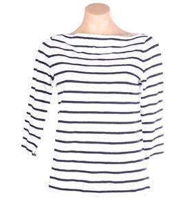SPORTSCAFT Women`s Stripe T-Shirt, Size