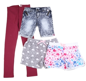 4 x Assorted Girl`s Bottoms, Size L, Pol