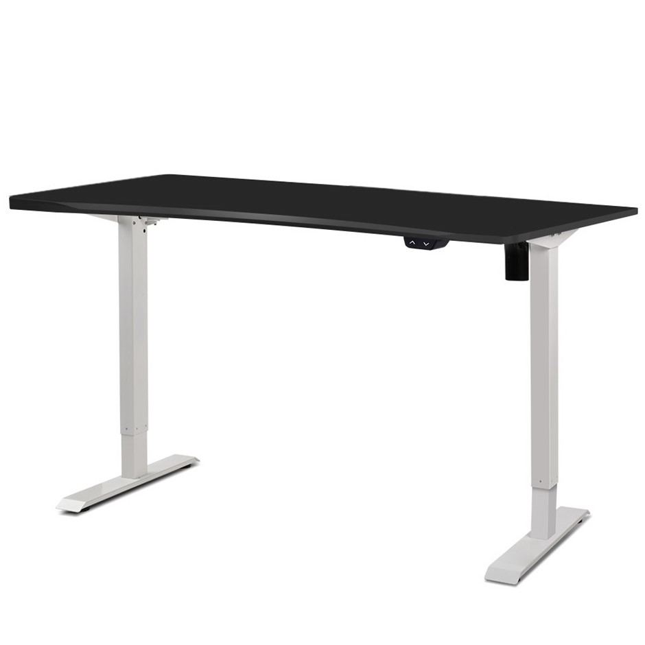 Artiss Electric Height Adjustable Standing Sit Stand Desk Office Table
