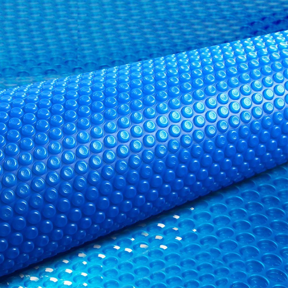 Aquabuddy 10M x 4M Solar Swimming Pool Cover 400 Micron Outdoor Bubble