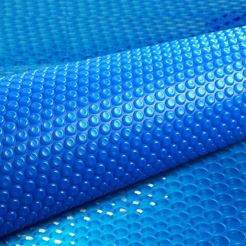Aquabuddy 10M x 4M Solar Swimming Pool Cover 400 Micron Outdoor Bubble