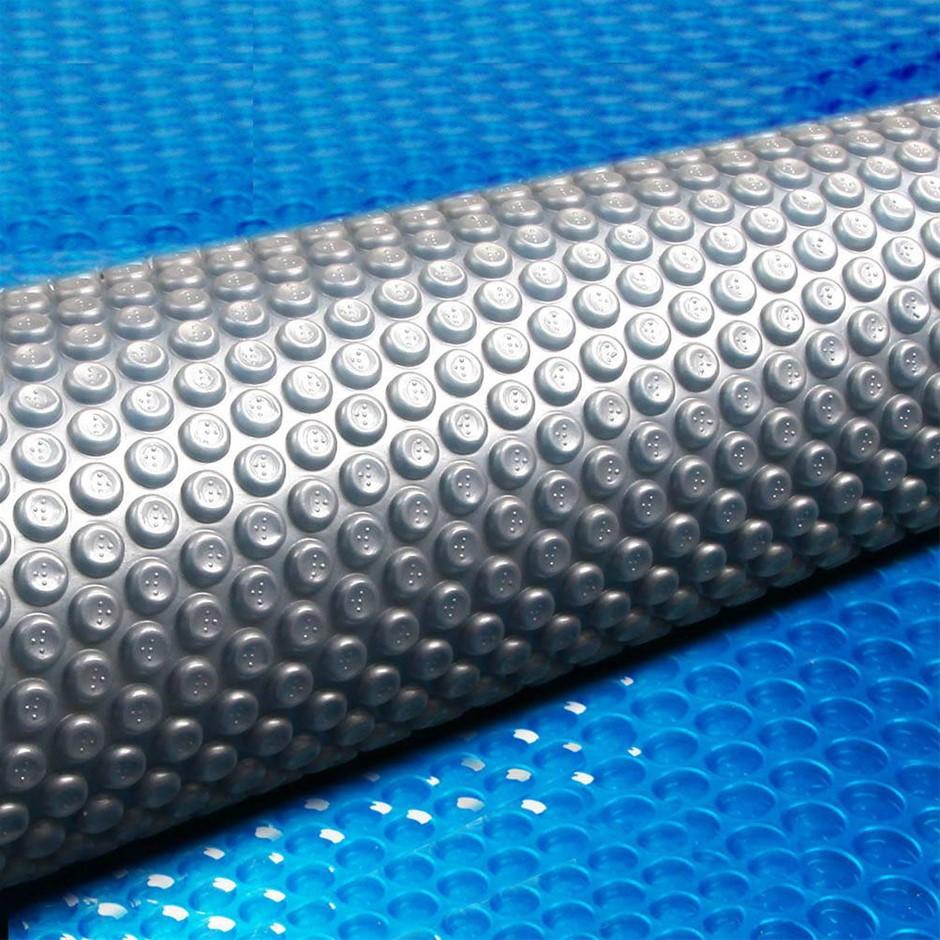 Aquabuddy Solar Swimming Pool Cover 400 Micron Isothermal Blanket 10.5X4.2M