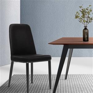 Artiss Dining Chairs Replica Chair Black